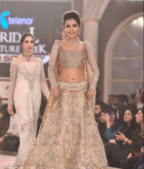 Humaima Malick Bridal couture week
