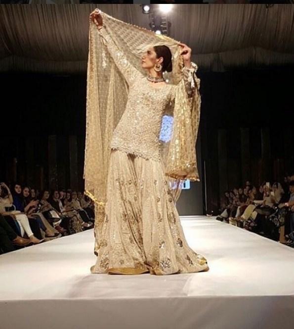 Mahira Khan in bridal dress