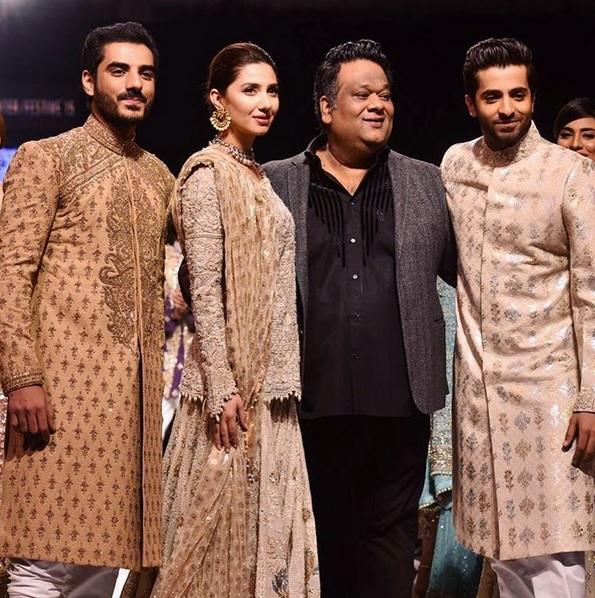 Mahira Khan with Umar Saeed