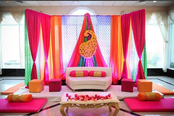 Mehndi Decoration Ideas 2016-curtains