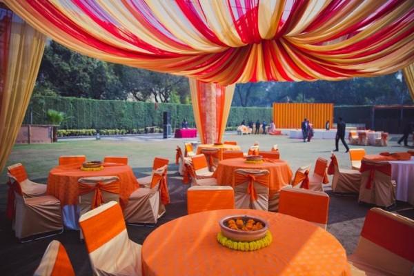 Mehndi Decoration Ideas 2016-orange