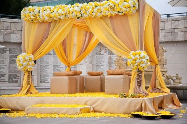 Mehndi Decoration Ideas 2016-yellow