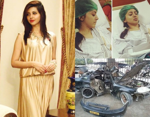 Moomal Khalid accident
