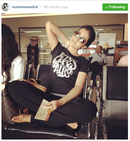 Pakistani celebrities During Travelling-humaima-2
