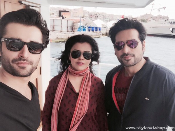 Pakistani celebrities During Travelling- humayun