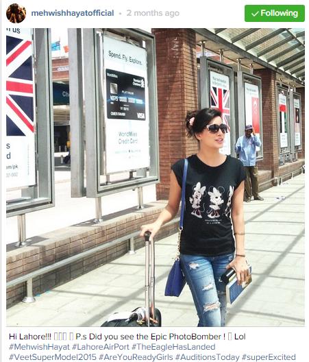 Pakistani celebrities During Travelling- mewish
