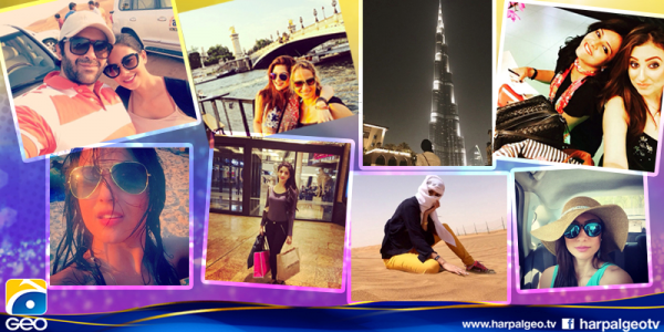 Pakistani celebrities During Travelling-travel