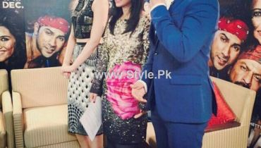 See Sanam Jung with Cast of Dilwale