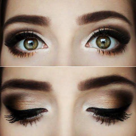 Winter Makeup Ideas 2016-smoky