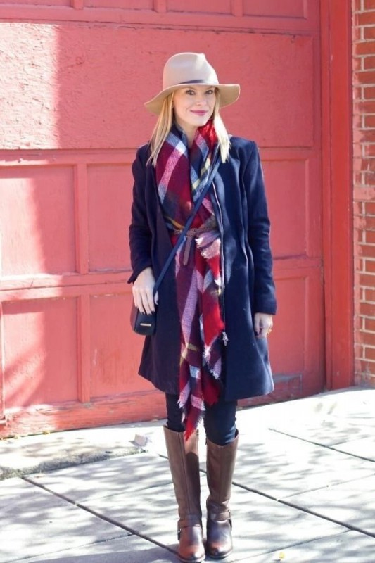 winter scarf trend 2016- belt