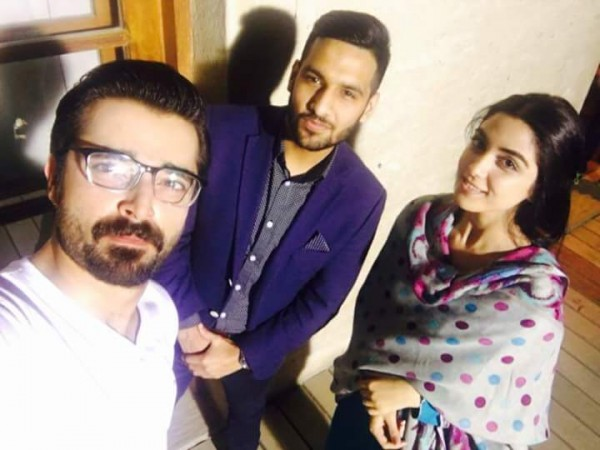 Cast of Tum Kon Piya and Mann Mayal with Zaid Ali (6)