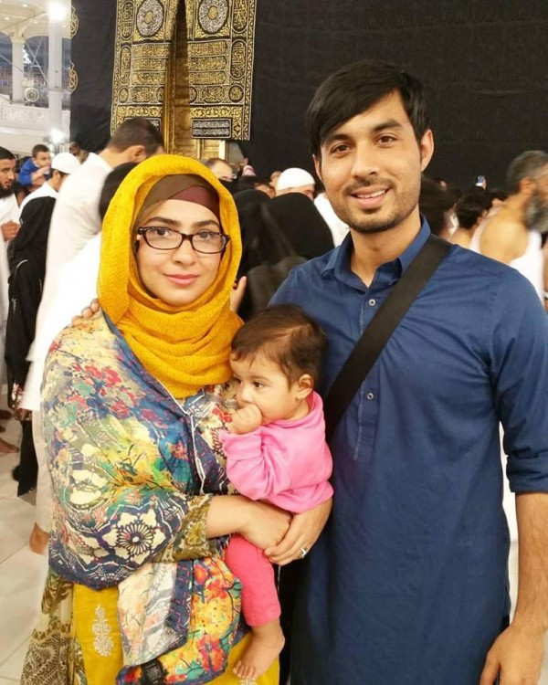 See Dua Malik peformed Umrah with her Family