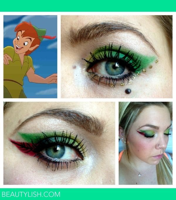 Eye Makeup for Disney Lovers-peter pan