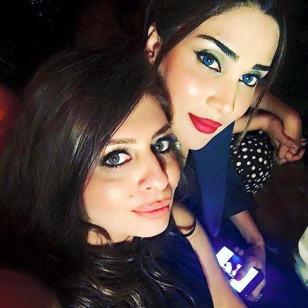 See Fizza Ali is having fun with Friends