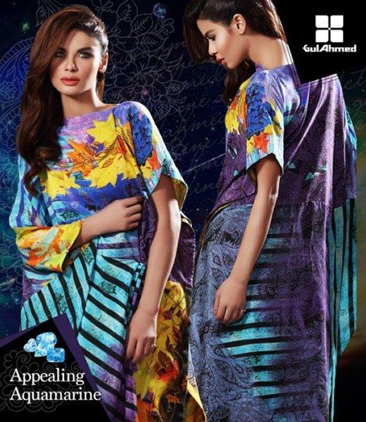 Gul Ahmed Silk Dresses 2016 For Women005