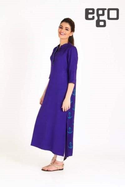 Latest Pakistani Casual Dresses Designs