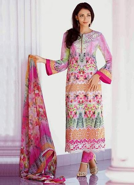 Pakistani Casual Dresses Designs