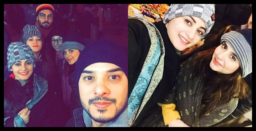 Pakistani Celebrities are on Vacations in Murree 1