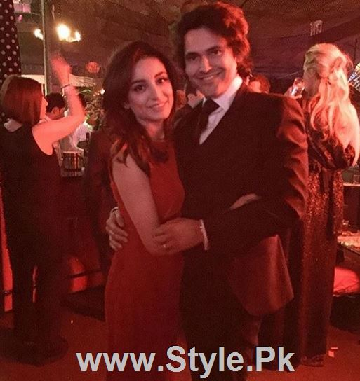 Pictures of Pakistani Celebrities on New year's Eve (20)
