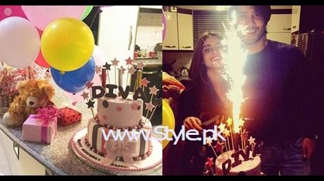See Sajjal Ali celebrating her 22nd birthday