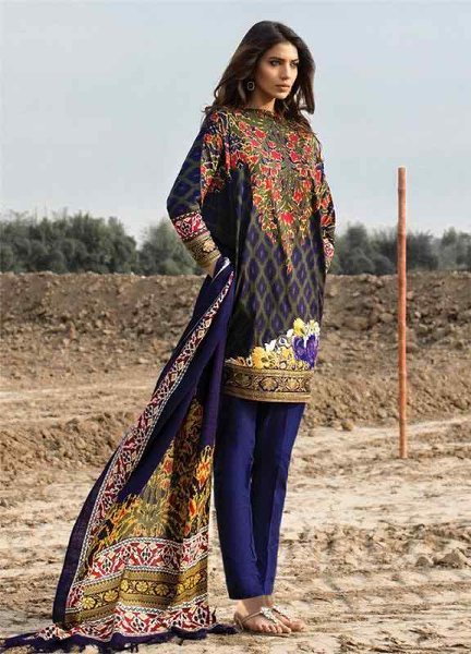 Sana Safinaz Winter Shawl Dresses 2016 For Women003