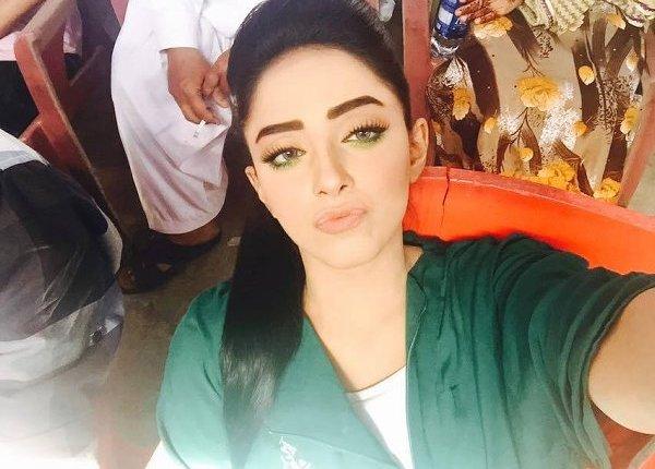 Unseen Sanam Chaudhry Selfie Photoshoot
