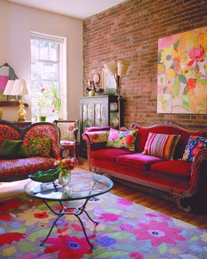 Add colors in your Living room.22