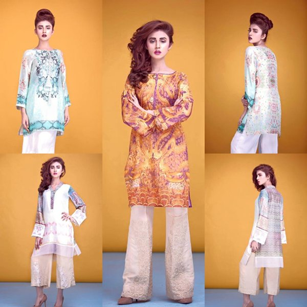 Ayesha Somaya Spring Dresses 2016 For Women0010