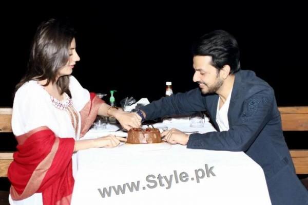 Bilal Qureshi and Uroosa Qureshi Celebrating 1st Wedding Anniversary (5)