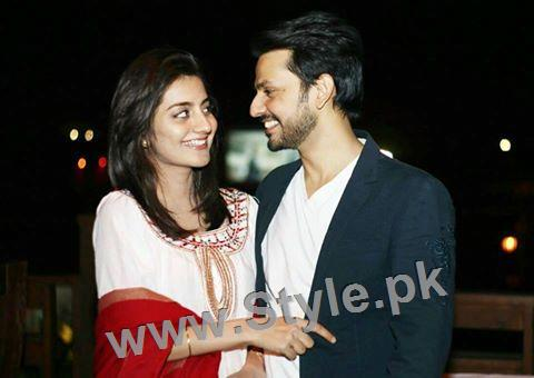 Bilal Qureshi and Uroosa Qureshi Celebrating 1st Wedding Anniversary (6)
