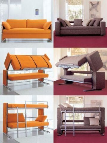 Convertible Furniture Ideas for Small Space. black