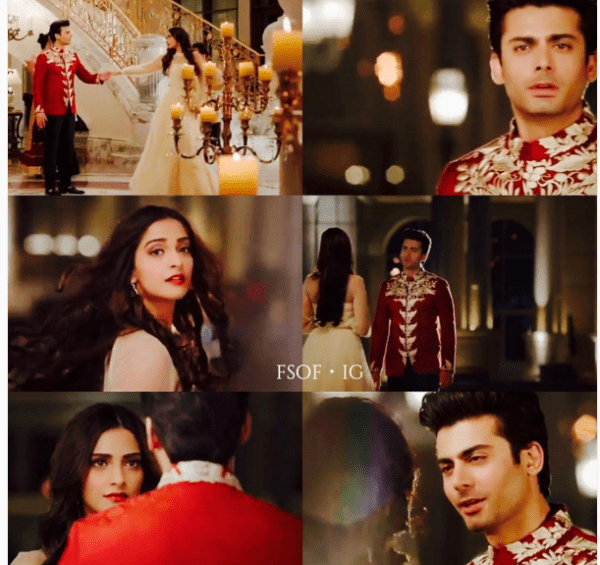 Fawad Khan Romance With Soman Kapoor in Tanrang Ad 2