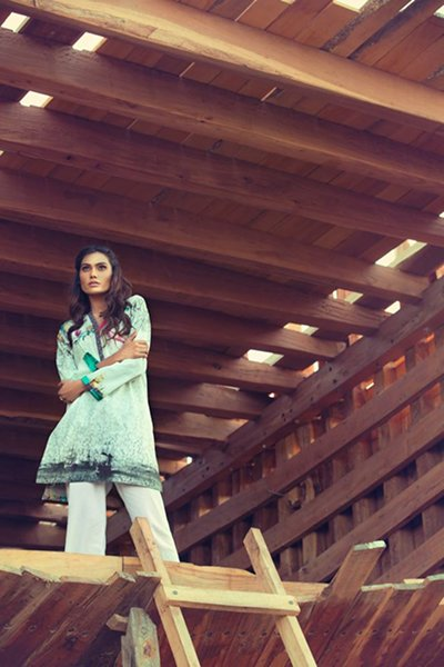 Ideas By Gul Ahmed Pret Wear Dresses 2016 For Women006
