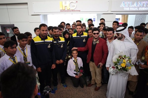 Javed Afridi with APS zalmi on the great win.all