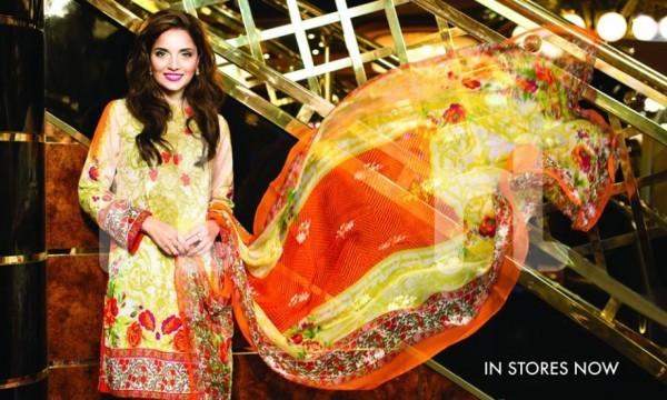 Latest clicks of Armeena Rana Khan for Nishat Linen (3)