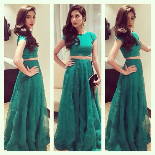 Mahira Khan's Most Iconic Style Moments. green (2)