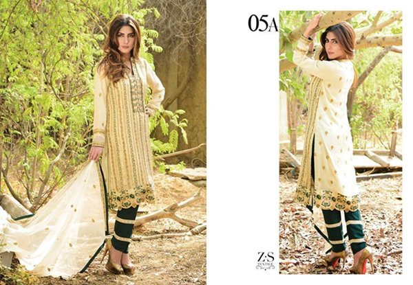 Maira Ahsan Chiffon Dresses 2016 For Women0012