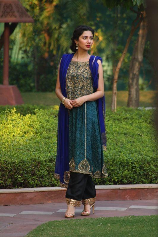 Maira Khan in Shalwar Kameez. zinc