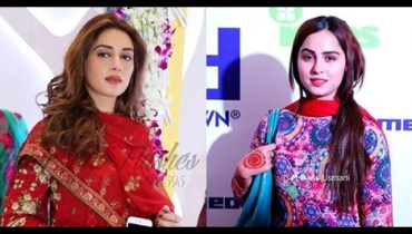 See Pakistani Celebrities at the Launch of Gul Ahmed