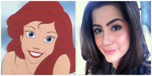 Pakistani Celebrities who look like a Disney Princesses.soha