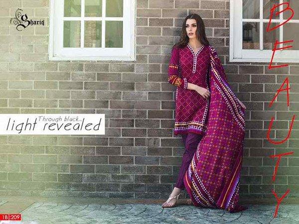 Riwaj By Shariq Textiles Spring Dresses 2016 For Women004