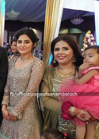 Sanam Baloch at her Brother's Wedding (6)