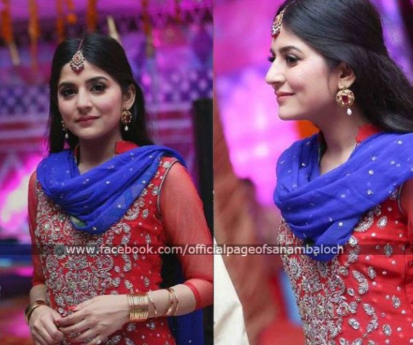 Sanam Baloch at her Brother's Wedding (8)