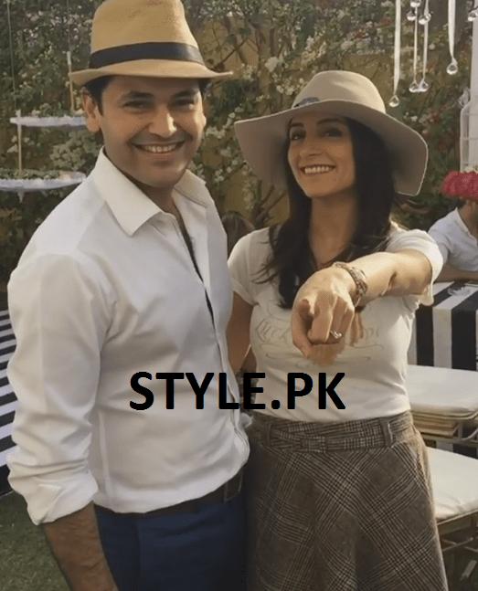 Sarwat Gillani Fahad Mirza on Valentines