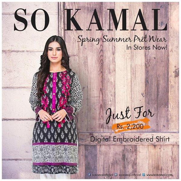 So Kamal Spring Dresses 2016 For Women0012