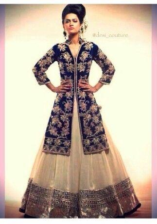 Velvet Bridal dresses  - blue