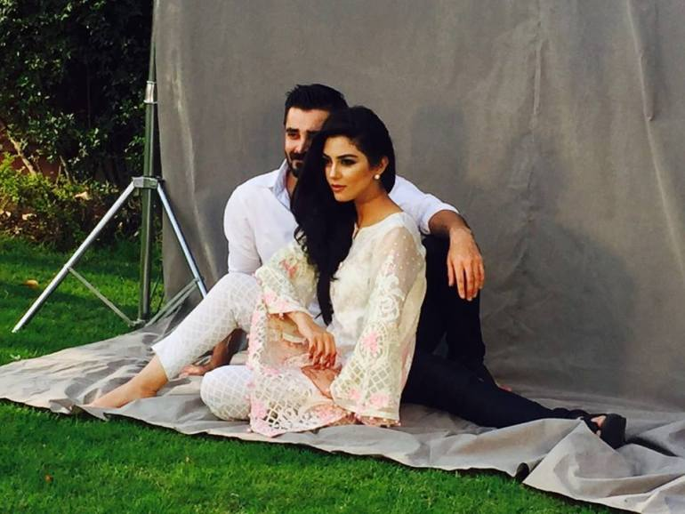 hamza abbasi and maya ali
