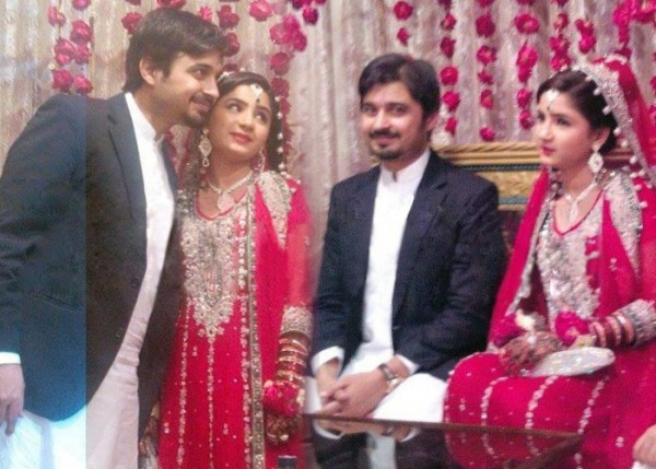 Babar Khan and Bismah Khan wedding