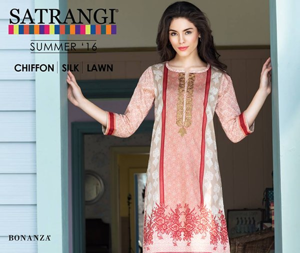 Bonanza Garments Summer Dresses 2016 For Women001