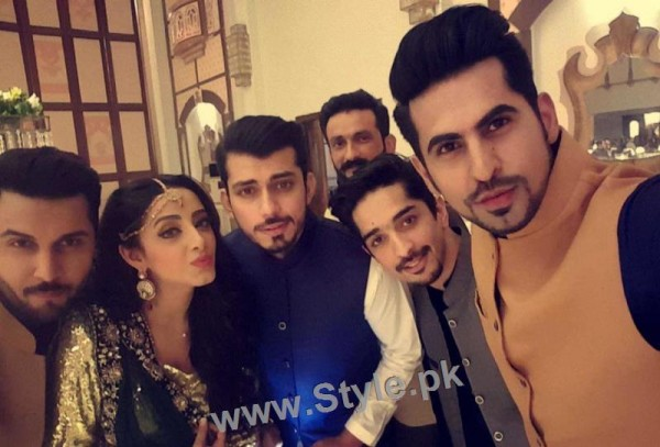 Celebrities at Actor Wahaj Ali's Mehndi (9)